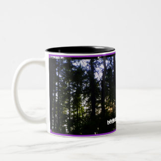 Beauty in Nature Two-Tone Coffee Mug