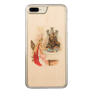Beauty In Pink And The Beast Carved iPhone 7 Plus Case