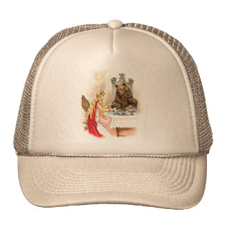 Beauty In Pink And The Beast Trucker Hat