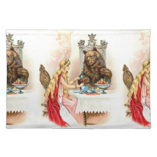 Beauty In Pink And The Beast Place Mat