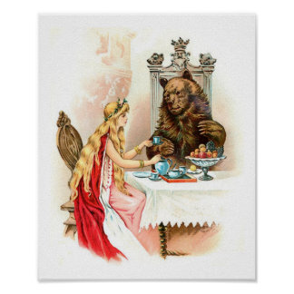 Beauty In Pink And The Beast Poster
