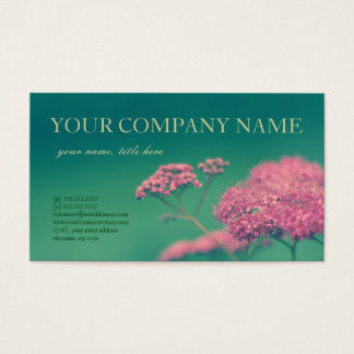 Beauty in Pink Business Card