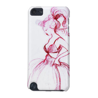 BEAUTY IN PINK DRESS iPod TOUCH 5G COVER