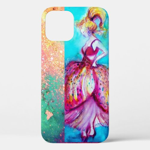 BEAUTY IN PINK DRESS / Magic Butterfly Plant Case- Phone Case