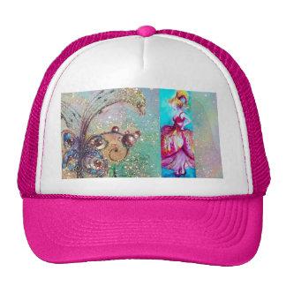 BEAUTY IN PINK DRESS / Magic Butterfly Plant Trucker Hat