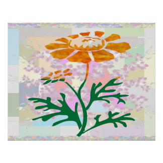Beauty in Simplicity Flower Show  : Artistic Work Poster