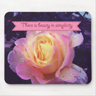 Beauty in simplicity mousepads