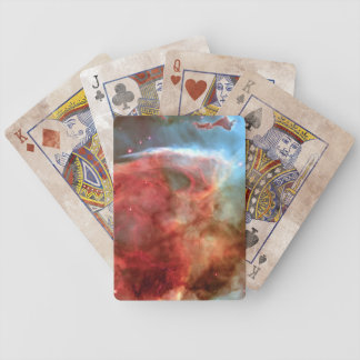 Beauty in Space Nebula photography Bicycle Playing Cards