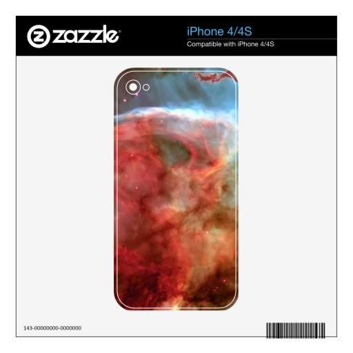 Beauty in Space Nebula photography Decal For The iPhone 4