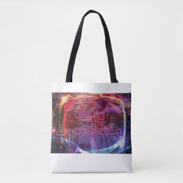 Beach Themed Beauty In The Breakdown - Tote Bag - Abstract logo