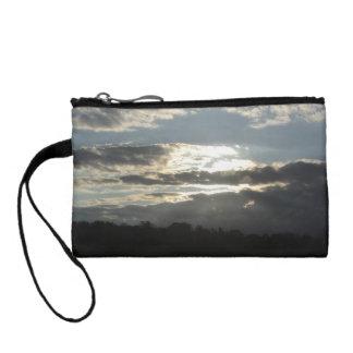 Beauty in the sky change purse