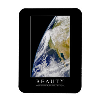 Beauty: Inspirational Quote 1 Magnet