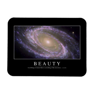 Beauty: Inspirational Quote 2 Magnet
