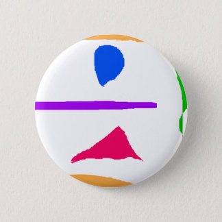 Beauty Is an Illusion Pinback Button