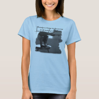 Beauty is being in harmony with ... T-Shirt