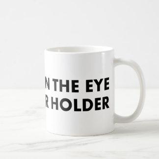 Beauty is in the eye of the beer holder coffee mug