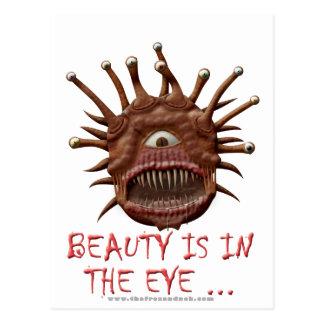 Beauty Is In the Eye ... Postcard