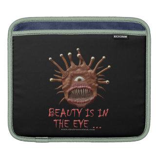 Beauty Is In the Eye ... Sleeve For iPads