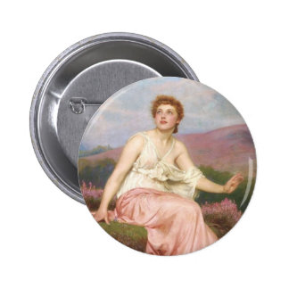 BEAUTY IS OUR LOVE FOR GOD PINBACK BUTTON