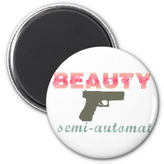 Beauty is semi-automatic magnet