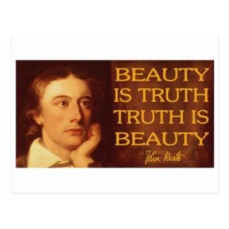Beauty is Truth Postcard