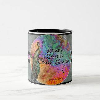 Beauty is Truth, Truth Beauty Two-Tone Coffee Mug