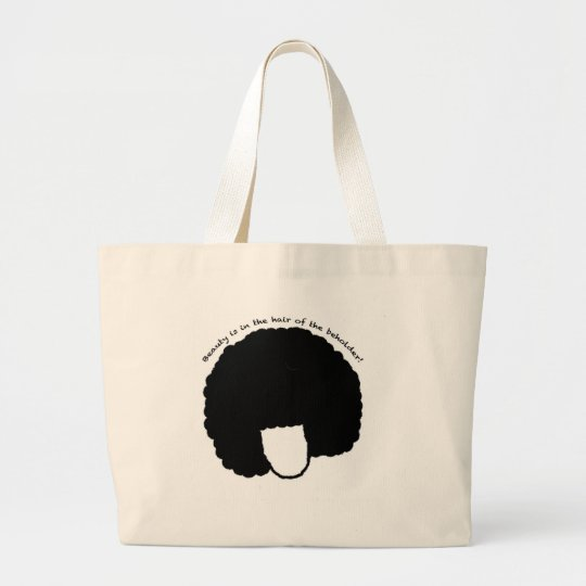 beauty large tote bag