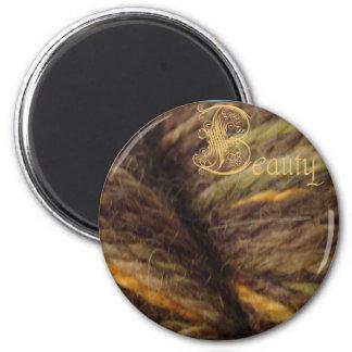 beauty magnet, woodsman