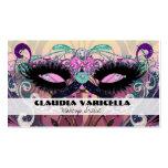 Beauty Makeup Artist Hair Salon Business Card Glam Business Card