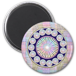 Beauty Mantra - ART101 Chakra Collection 2 Inch Round Magnet