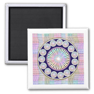 Beauty Mantra - ART101 Chakra Collection 2 Inch Square Magnet