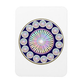 Beauty Mantra - ART101 Chakra Collection Rectangular Photo Magnet