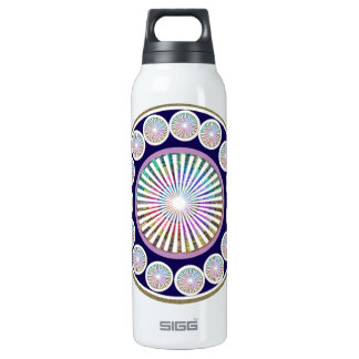 Beauty Mantra - ART101 Chakra Collection 16 Oz Insulated SIGG Thermos Water Bottle
