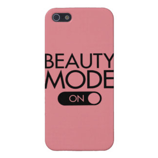 beauty mode ON Cover For iPhone SE/5/5s