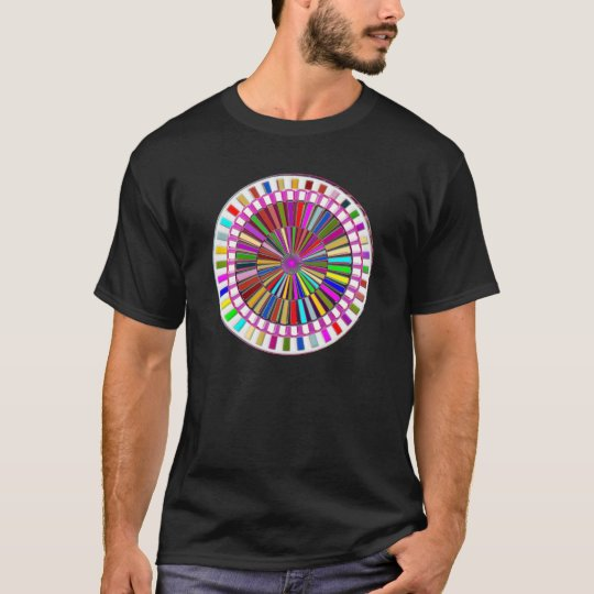 BEAUTY : Moving Wheel Chakra with ENERGY T-Shirt