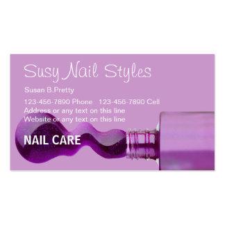 Beauty Nail Salon Business Cards