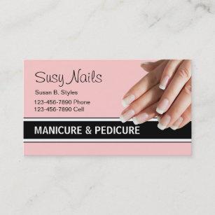 Manicure business cards zazzle beauty nails business cards colourmoves