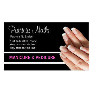 Beauty Nails Business Cards