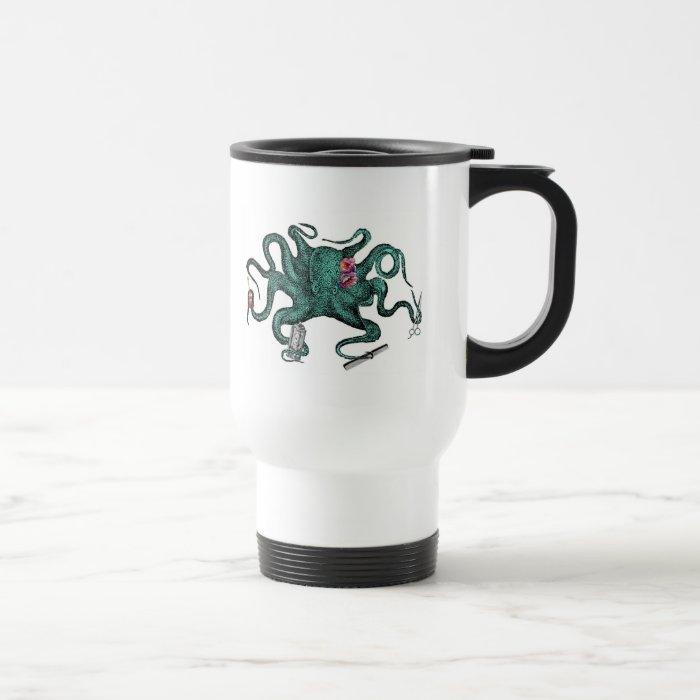 Beauty Octopus Travel Mug