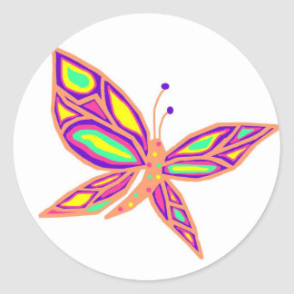 Beauty of a Butterfly sticker