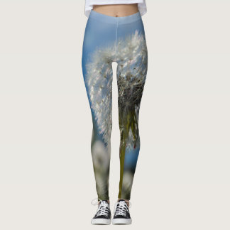 Beauty Of A Dandelion Leggings