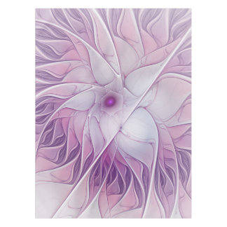 Beauty of a Flower, Abstract Fractal Art Tablecloth