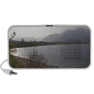 Beauty of a Loch in the Scottish Highlands Mini Speaker
