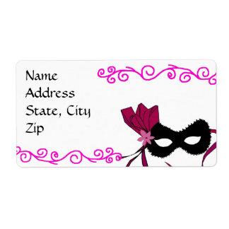 Beauty of a mask address labels