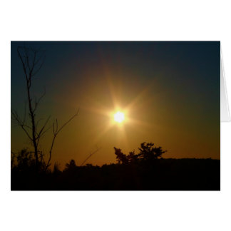 Beauty Of A Sun Risen Card