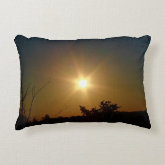 Beauty Of A Sun Risen Decorative Pillow