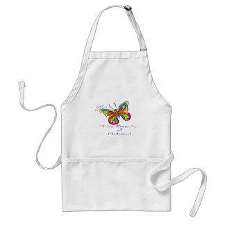 beauty of autism adult apron