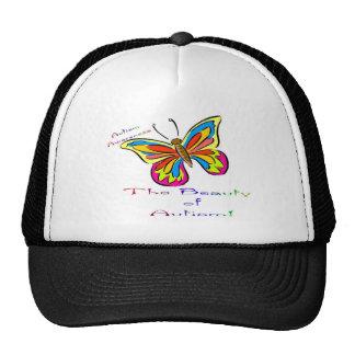 beauty of autism trucker hat