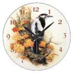 Beauty of Autumn Bird Clocks