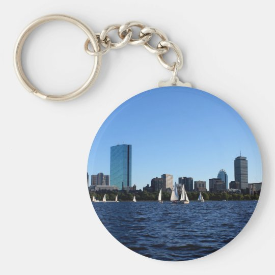 Beauty of Boston Keychain